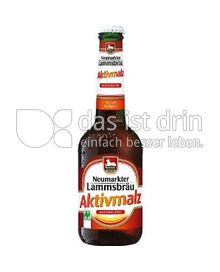 Produktabbildung: Neumarkter Lammsbräu Aktivmalz 0,33 l