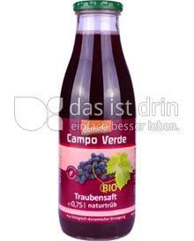 Produktabbildung: Campo Verde Bio Traubensaft naturtrüb 0,75 l