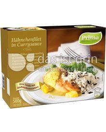 Produktabbildung: Prima Menü Hähnchenfilet in Currysauce 500 g
