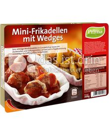 Produktabbildung: Prima Menü Mini-Frikadellen mit Wedges 350 g