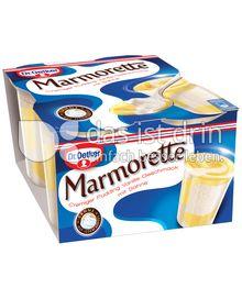 Produktabbildung: Dr. Oetker Marmorette Vanille 400 g