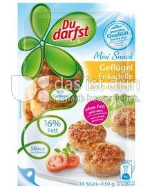 Produktabbildung: Du darfst Mini Snack Geflügel-Frikadelle 150 g