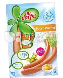 Produktabbildung: Du darfst Puten Wiener 200 g
