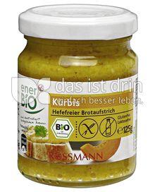 Produktabbildung: enerBIO Kürbis Hefefreier Brotaufstrich 125 g