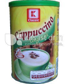 Produktabbildung: K-Classic Cappuccino Ungesüßt 200 g
