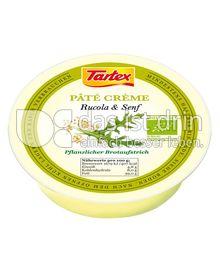 Produktabbildung: Tartex Pâté Crème Rucola & Senf 75 g