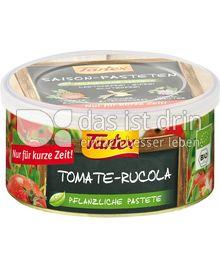 Produktabbildung: Tartex Saison Pastete Tomate-Rucola 125 g