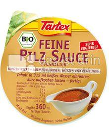Produktabbildung: Tartex Feine Pilz Sauce 45 g