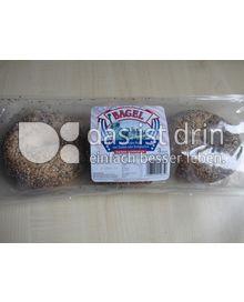 Produktabbildung: Glockenbrot Bäckerei Mohn-Sesam Bagel 3 St.