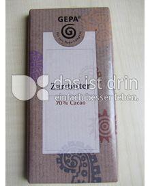Produktabbildung: GEPA Zartbitter 70% Cacao 100 g