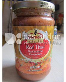 Produktabbildung: Sanchon Red Thai Thailändische Currysauce 340 g