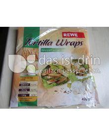Produktabbildung: REWE Tortilla Wraps 432 g