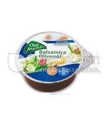 Produktabbildung: Chef Menü Balsamico Olivenöl Dressing 75 ml