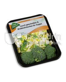 Produktabbildung: Chef Menü Lauch geschnitten & Brokkoliröschen für Suppe 150 g