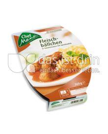 Produktabbildung: Chef Menü Fleischbällchen 360 g