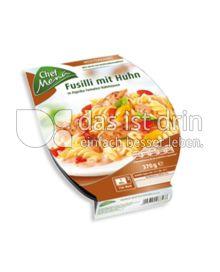 Produktabbildung: Chef Menü Fusilli mit Huhn 370 g