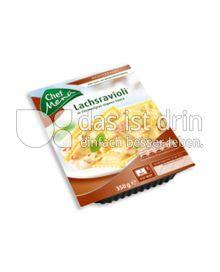 Produktabbildung: Chef Menü Lachsravioli 350 g