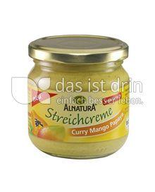 Produktabbildung: Alnatura Streichcreme Curry Mango Papaya 180 g