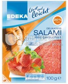 Produktabbildung: Edeka Lust auf Leicht Delikatess Salami 100 g