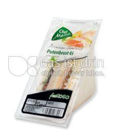 Produktabbildung: Chef Menü Premium Sandwich Putenbrust-Ei 200 g