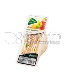 Produktabbildung: Chef Menü Premium Sandwich Salami-Emmentaler 200 g