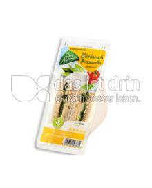 Produktabbildung: Chef Menü Bärlauch Mozzarella Sandwich 170 g
