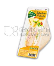 Produktabbildung: Chef Menü Putenbrust-Ei-Paprika Sandwich 178 g