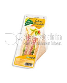 Produktabbildung: Chef Menü Salami-Emmentaler Sandwich 145 g