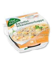 Produktabbildung: Chef Menü Kartoffel-Schwammerlsuppe 330 g