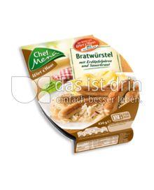 Produktabbildung: Chef Menü Wirt z'Haus Bratwürstel 430 g