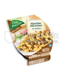 Produktabbildung: Chef Menü Wirt z'Haus Haschee Hörnchen 350 g