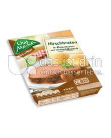 Produktabbildung: Chef Menü Wirt z'Haus Hirschbraten 350 g