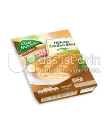 Produktabbildung: Chef Menü Wirt z'Haus Hühner Cordon Bleu 250 g