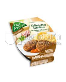 Produktabbildung: Chef Menü Wirt z'Haus Kalbsbutter Schnitzel 370 g