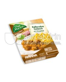 Produktabbildung: Chef Menü Wirt z'Haus Kalbsrahm Gulasch 330 g