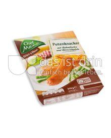 Produktabbildung: Chef Menü Wirt z'Haus Putenknacker 350 g