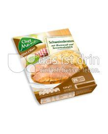 Produktabbildung: Chef Menü Wirt z'Haus Schweinsbraten 330 g