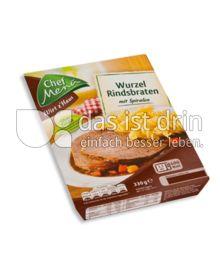 Produktabbildung: Chef Menü Wirt z'Haus Wurzel Rindsbraten 330 g