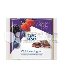 Produktabbildung: Ritter Sport Waldbeer Joghurt 100 g