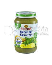 Produktabbildung: Alnatura Spinat mit Kartoffeln 190 g