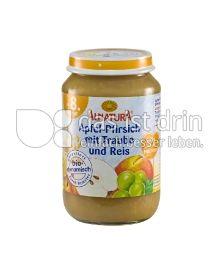 Produktabbildung: Alnatura Apfel-Pfirsich mit Traube und Reis 190 g
