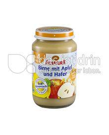 Produktabbildung: Alnatura Birne mit Apfel und Hafer 190 g