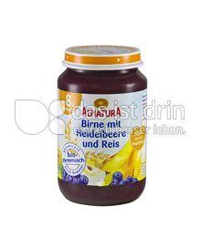 Produktabbildung: Alnatura Birne mit Heidelbeere und Reis 190 g