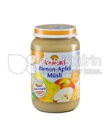 Produktabbildung: Alnatura Birnen-Apfel-Müsli 190 g