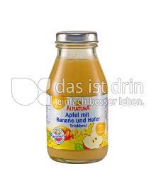 Produktabbildung: Alnatura Apfel mit Banane und Hafer Trinkbrei 0,2 l