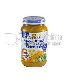 Produktabbildung: Alnatura Karotten, Brokkoli mit Tomaten und Dinkelnudeln 220 g