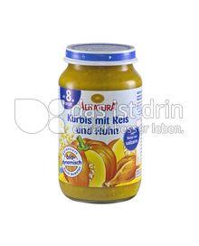 Produktabbildung: Alnatura Kürbis mit Reis und Huhn 220 g