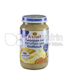 Produktabbildung: Alnatura Pastinaken mit Kartoffeln und Rindfleisch 220 g
