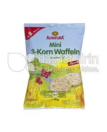 Produktabbildung: Alnatura Mini 3-Korn Waffeln 40 g
