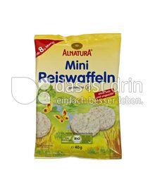 Produktabbildung: Alnatura Mini Reiswaffeln 40 g